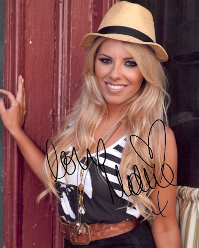 Mollie King Autograph Photo - The Saturdays